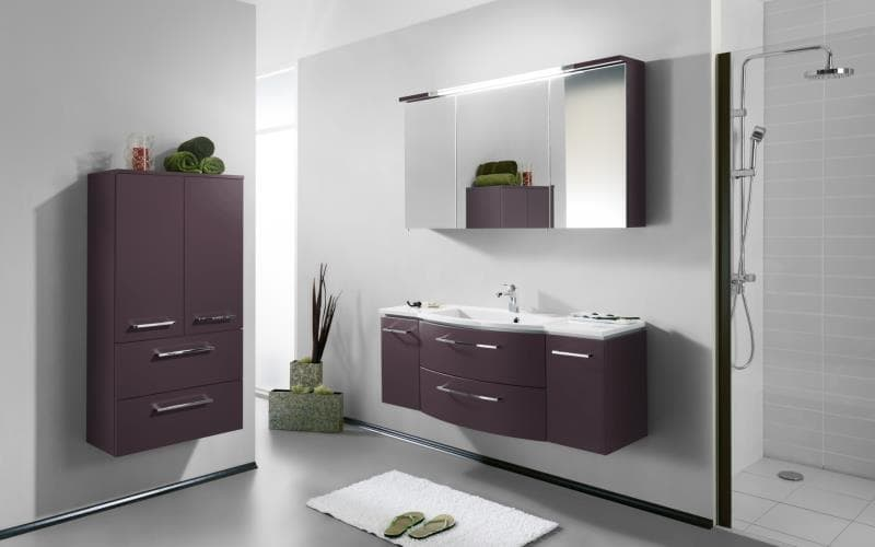 Saturn Gloss Bathroom Doors Gallery
