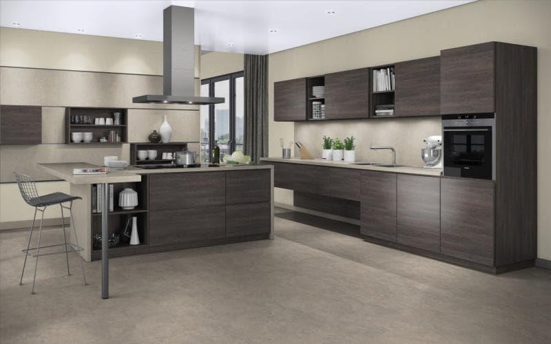 Treviso handle less kitchen doors